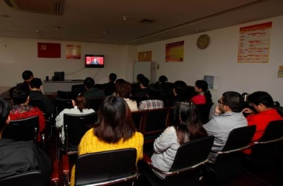 无锡市档案系统分别组织集中收看党的十九大开幕会