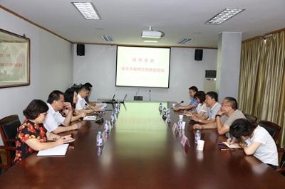无锡锡山、南京建邺两区档案机构开展业务交流